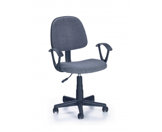Detská stolička na kolieskach s podrúčkami Darian BIS - sivá