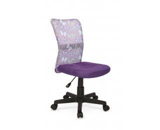 Detská stolička na kolieskach Dingo - fialová