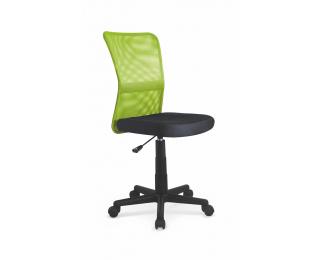Detská stolička na kolieskach Dingo - zelená / čierna
