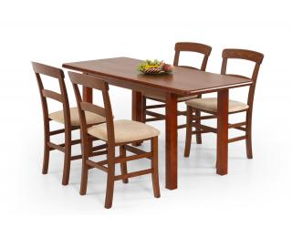 Rozkladací jedálenský stôl Dinner 120/158 - čerešňa
