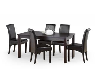 Rozkladací jedálenský stôl Ernest 2 160/200 - wenge