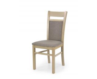 Jedálenská stolička Gerard 2 - dub sonoma / hnedá