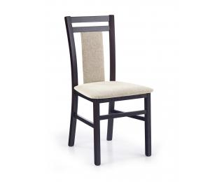 Jedálenská stolička Hubert 8 - wenge / béžová