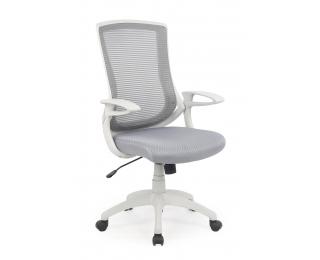 Kancelárska stolička s podrúčkami Igor - sivá / svetlosivá