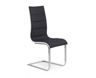 Jedálenská stolička K105 - grafit / biela