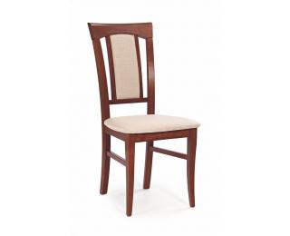 Jedálenská stolička Konrad - čerešňa antická / svetlohnedá