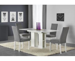 Rozkladací jedálenský stôl Kornel - biela