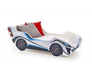 Detská posteľ s roštom a matracom Lambo - kombinácia farieb