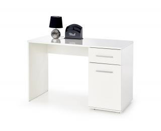 Písací stolík Lima B1 - biely lesk