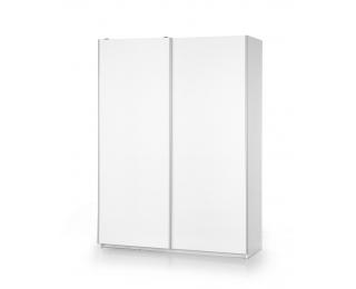 Šatníková skriňa s posuvnými dverami Lima S1 - biely lesk