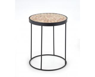 Okrúhly konferenčný stolík Naturo 2 - čierna