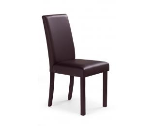 Jedálenská stolička Nikko - tmavý orech / tmavohnedá