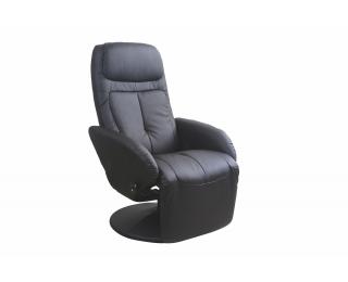 Relaxačné kreslo Optima - čierna
