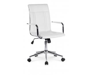 Kancelárska stolička s podrúčkami Porto 2 - biela