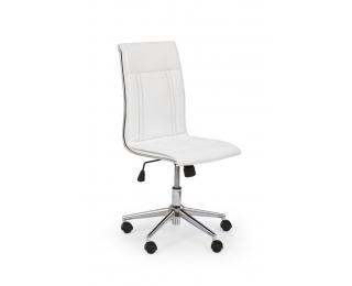 Kancelárska stolička Porto - biela