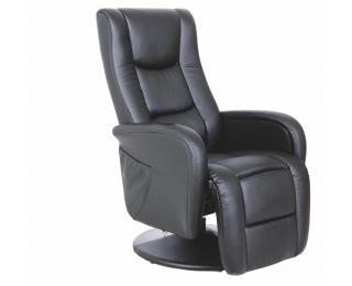 Relaxačné kreslo Pulsar - čierna