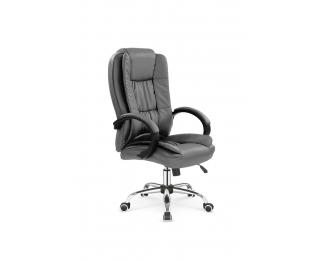 Kancelárske kreslo s podrúčkami Relax - sivá