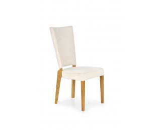 Jedálenská stolička Rois - krémová / dub medový