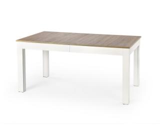 Rozkladací jedálenský stôl Seweryn - dub sonoma / biela