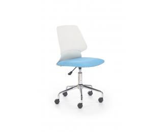 Detská stolička na kolieskach Skate - modrá / biela