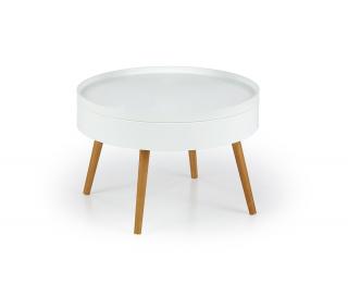 Okrúhly konferenčný stolík Starlet - biela