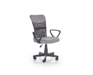 Kancelárska stolička s podrúčkami Timmy - sivá / čierna