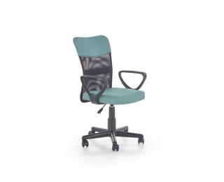 Kancelárska stolička s podrúčkami Timmy - tyrkysová / čierna