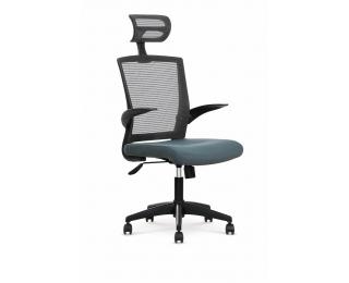 Kancelárska stolička s podrúčkami Valor - sivá