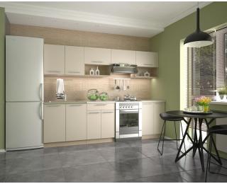 Kuchyňa Viola 260 - dub sonoma / vanilka