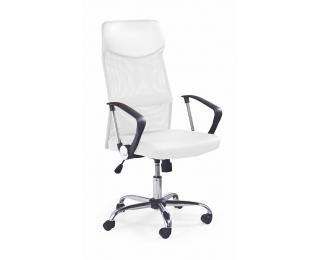 Kancelárska stolička s podrúčkami Vire - biela