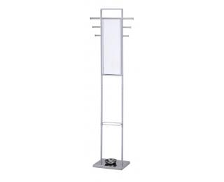 Vešiak so zrkadlom W37 - chróm
