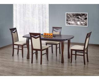 Rozkladací jedálenský stôl Henryk - tmavý orech