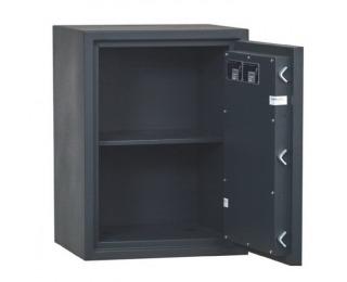 Žiaruvzdorný trezor so zámkom na kľúč Home Safe 50 - čierna