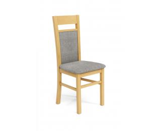 Jedálenská stolička Gerard 2 - dub medový / svetlosivá