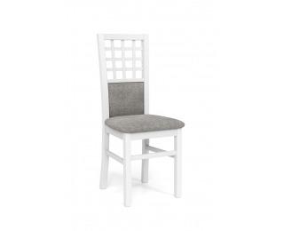 Jedálenská stolička Gerard 3 - biela / svetlosivá