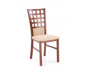 Jedálenská stolička Gerard 3 BIS - čerešňa antická / béžová