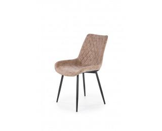 Jedálenská stolička K313 - hnedá / čierna