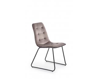 Jedálenská stolička K321 - sivá / čierna