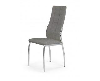 Jedálenská stolička K353 - sivá / chróm