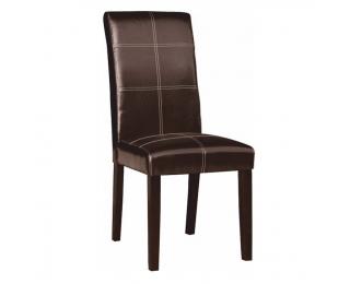 Jedálenská stolička Rory 2 New - tmavohnedá / tmavý orech