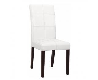 Jedálenská stolička Rory 2 New - biela / tmavý orech