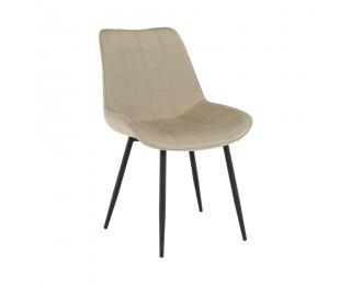 Jedálenská stolička Sarin - béžová / čierna