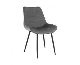 Jedálenská stolička Sarin - sivá / čierna
