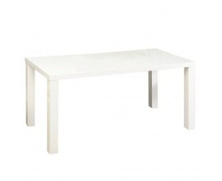 Jedálenský stôl Asper New Typ 2 - biely lesk