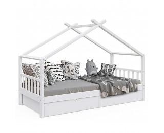 Jednolôžková posteľ s roštom Elisia 90x200 cm - biela