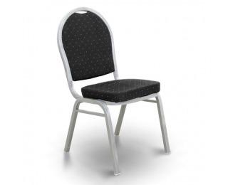 Konferenčná stolička Jeff 2 New - čierna / sivá