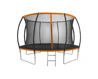 Trampolína Jumper PRO 366 cm - čierna / oranžová