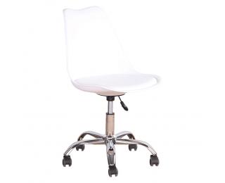 Kancelárska stolička Darisa New - biela