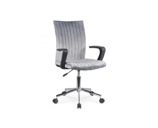 Kancelárska stolička s podrúčkami Doral - tmavosivá