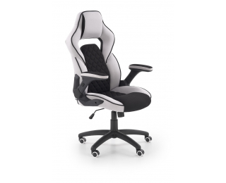 Kancelárska stolička s podrúčkami Sonic - čierna / sivá